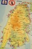 Карта кемпингов Лефкады