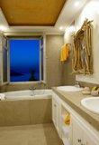 Греческая ванная комната, дизайнерский вариант