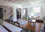 Греческая гостиная. Стиль кантри