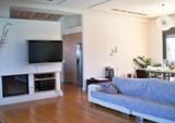 Греческая гостиная в стиле модерн