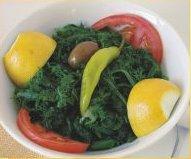 Хорта - греческий травяной салат