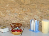Пасхальный стол для посетителей монастыря