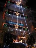 Новогодний жилой дом в Афинах