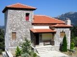 Каменный дом - шале в горах
