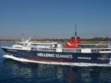 Транспорт Греции. Большой паром