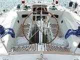 Кокпит яхты