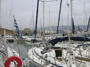 Афины, яхт-марина Алимос
